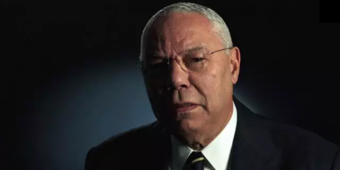 Colin Powell Video Poster