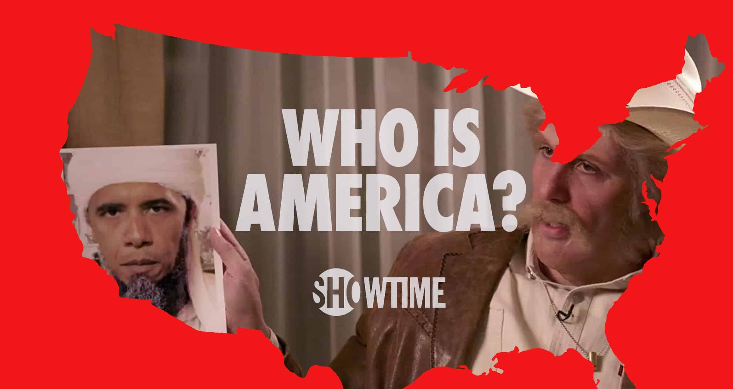 Who Is America Video Poster