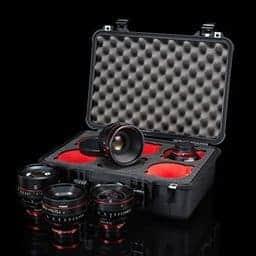 Canon Cinema Prime Kit