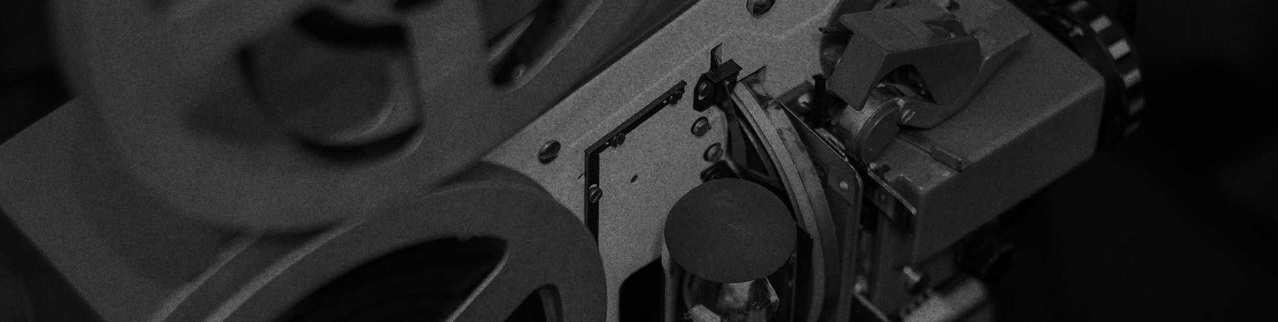 Traditional Production Header Background Old Projector