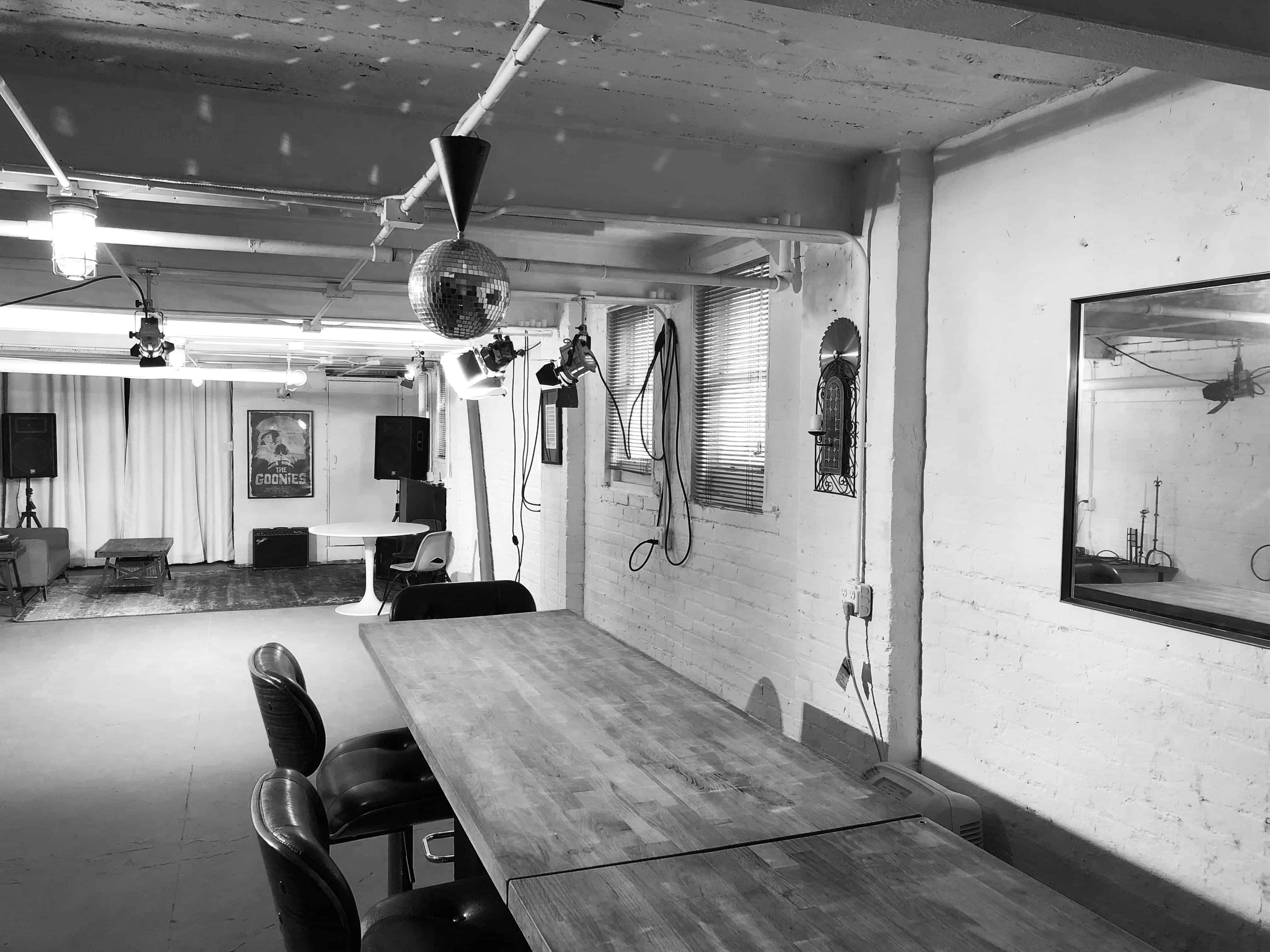 Studio Bar and Mirror