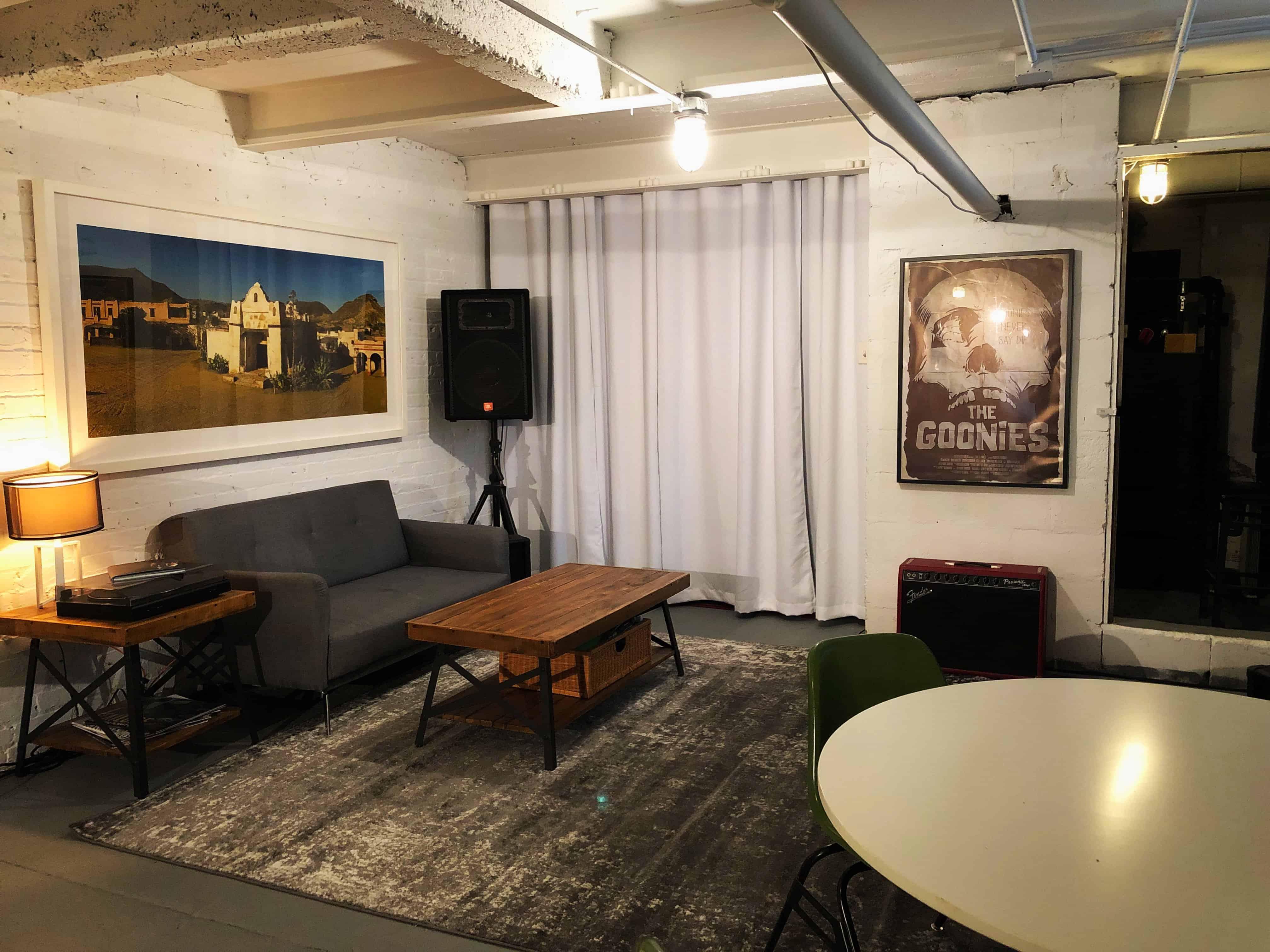 Studio Lounge Area